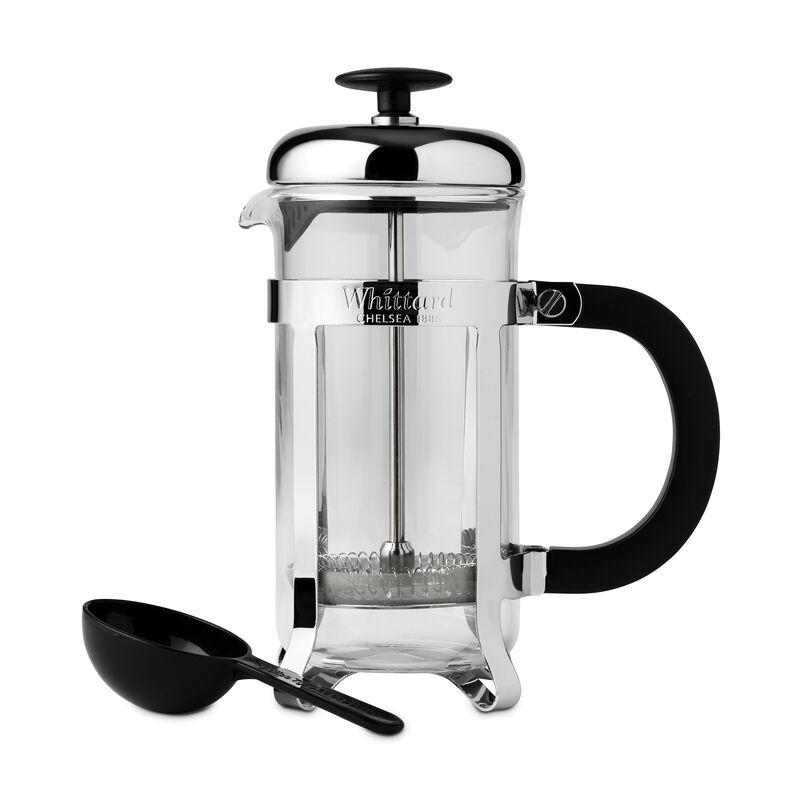 cafetiere, silver cafetiere, 3 cup cafetiere, cafetiere 3 cup