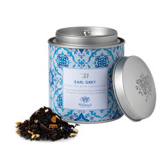 Image of Tea Discoveries Earl Grey Tea Caddy and tea