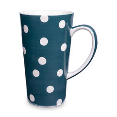 Florence Peacock Spot Latte Mug