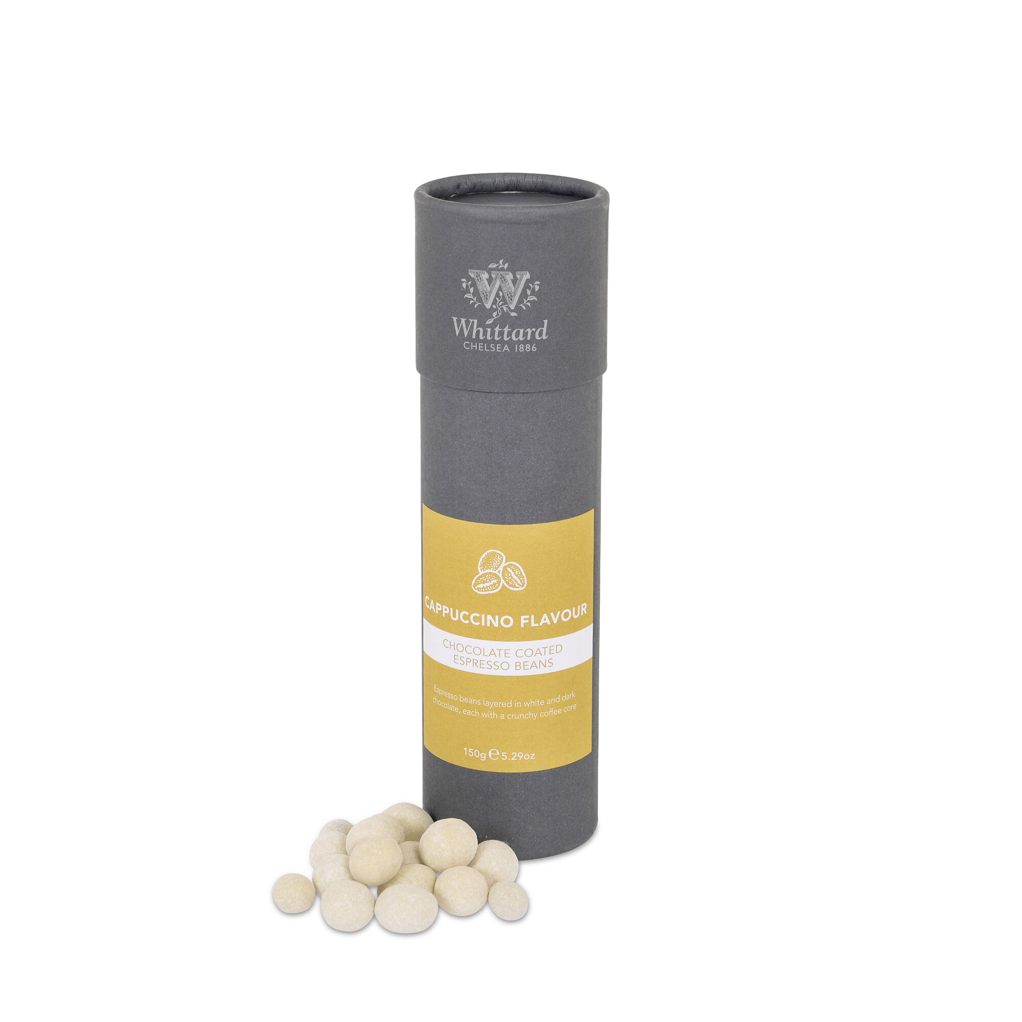 Cappuccino Flavour Espresso Beans Whittard Of Chelsea Aaist Whole Hazelnut Milk Chocolate 100 Gram