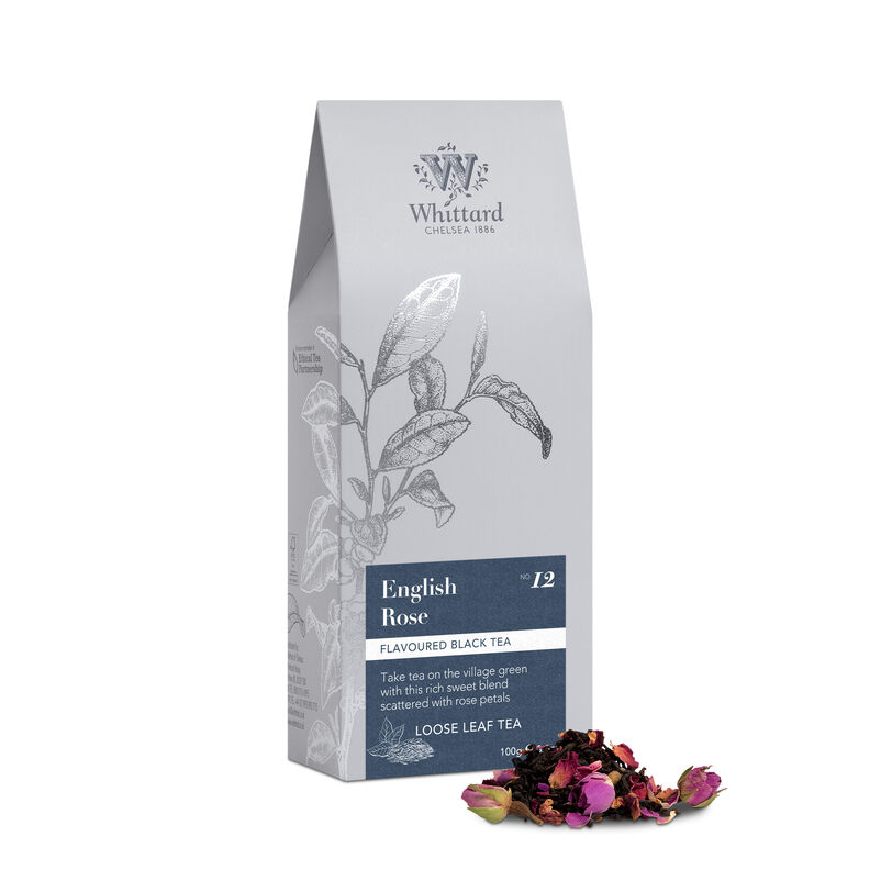 English Rose Loose Tea in pouch