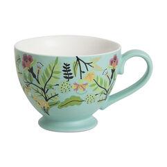 Aqua Porcelain Freya Mug