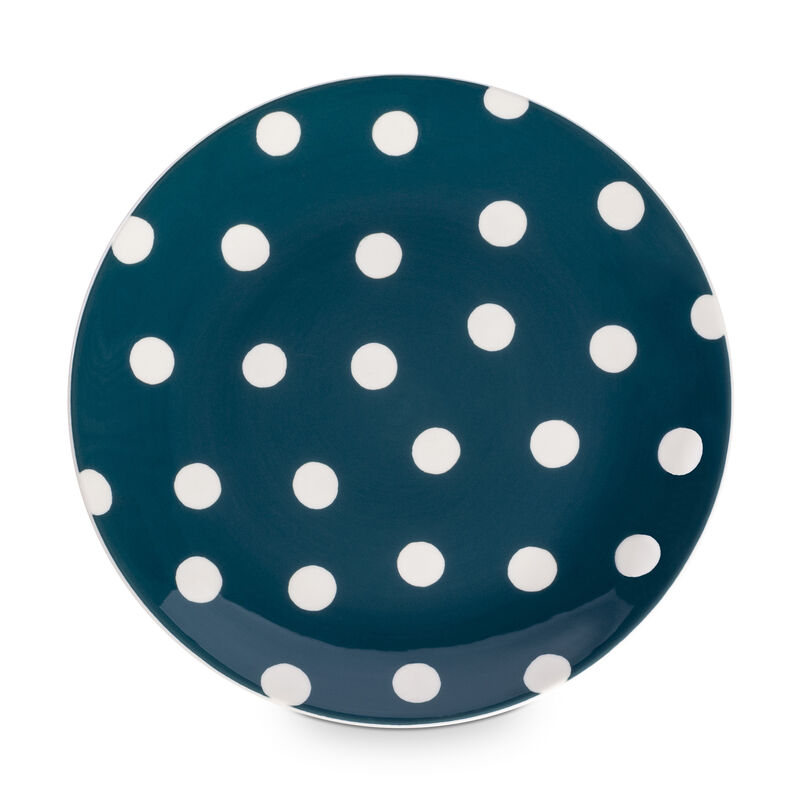 Florence Peacock Spot Side Plate