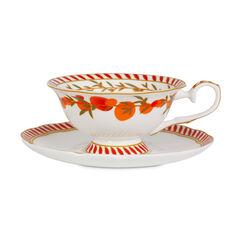 Mango & Bergamot Tea Cup & Saucer