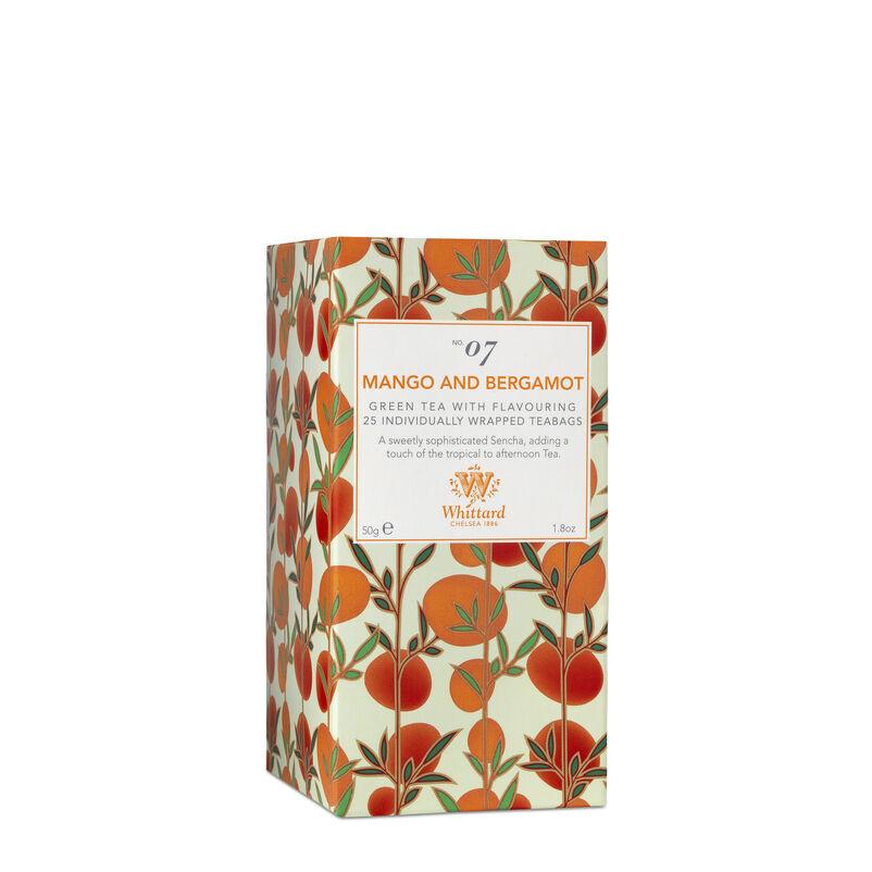 Tea Discoveries Mango & Bergamot 25 Individually Wrapped Teabags