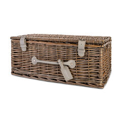 "18"" wicker hamper"