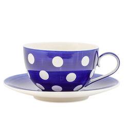 Florence Cobalt Cup & Saucer