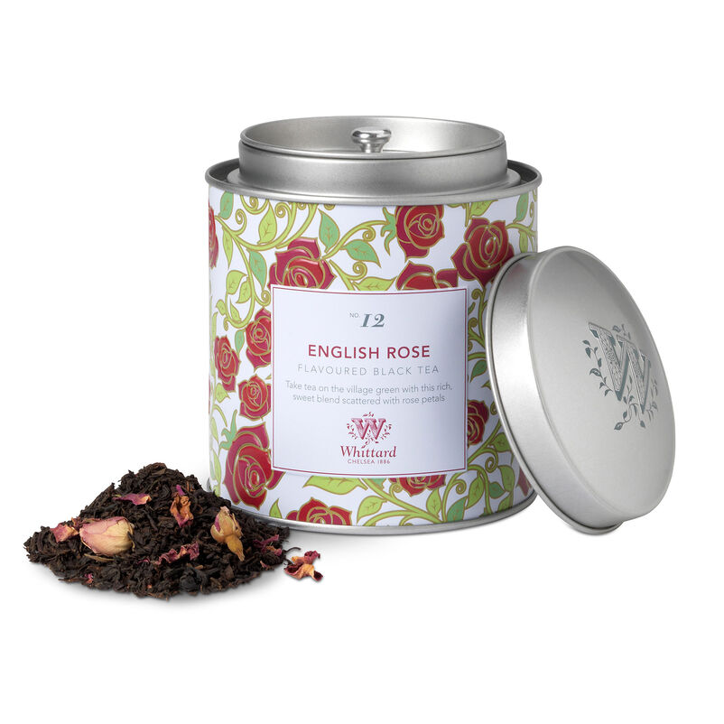 Image of English Rose Tea Discoveries Caddy