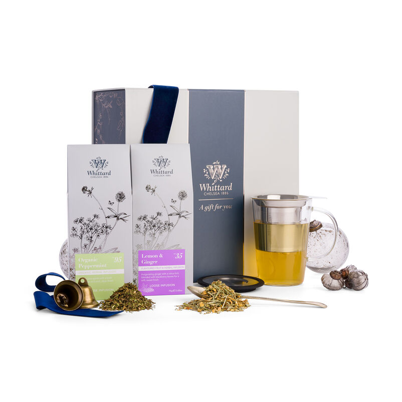 The Fruit & Herbal Discovery Gift Box in Christmas Styling