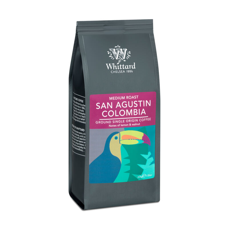 San Agustin Colombia Ground Coffee Valve Pack