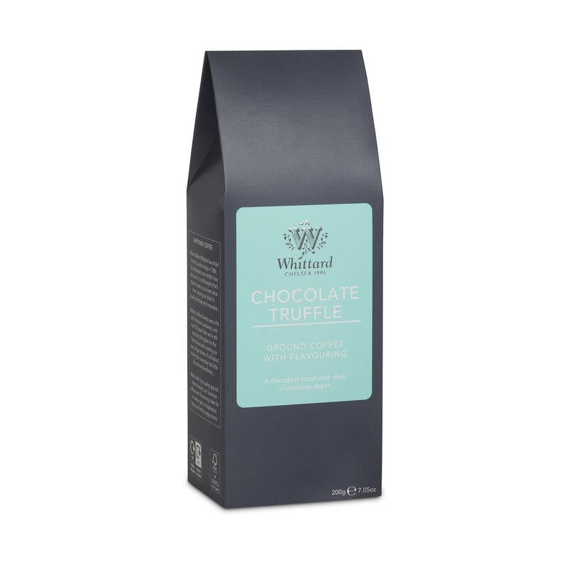 Chocolate Truffle flavour ground coffee, coffee flavours, ground coffee, chocolate coffee, espresso