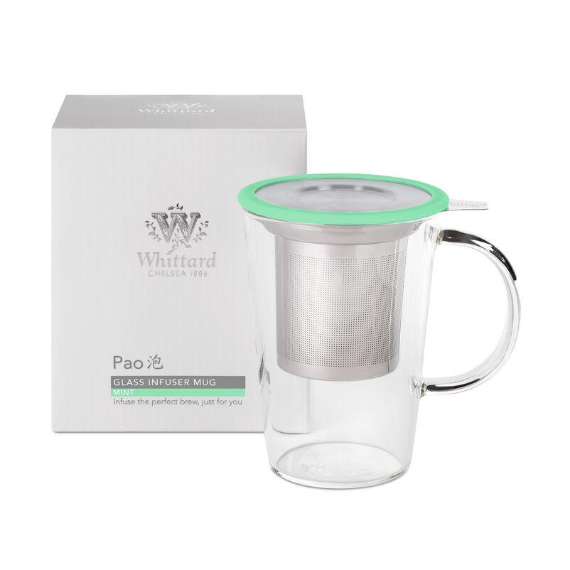 Mint Glass Pao Infuser Mug