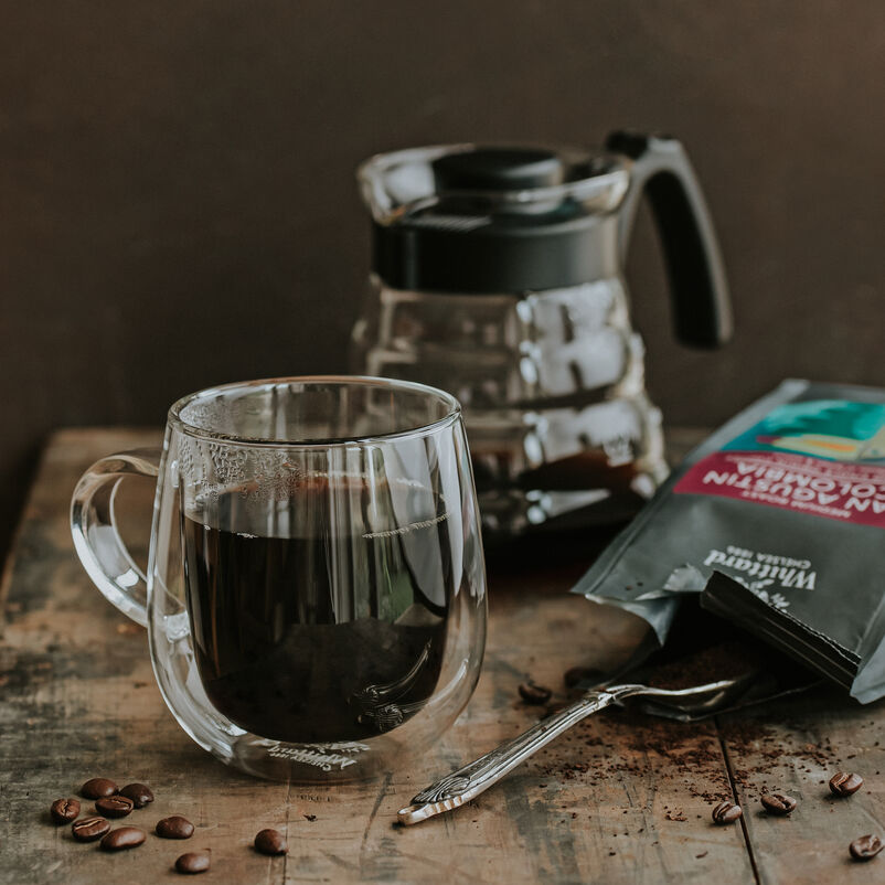 Hario V60 Craft Coffee Maker with nova mug