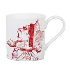 Alice in Wonderland Queen of Hearts Mug