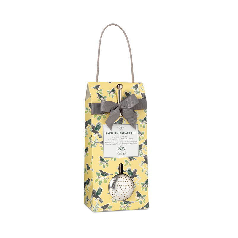 Tea Discoveries English Breakfast Pouch & Infuser