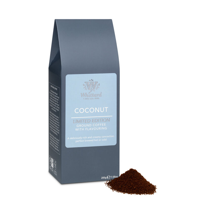 Limited Edition Coconut Flavour Ground Coffee