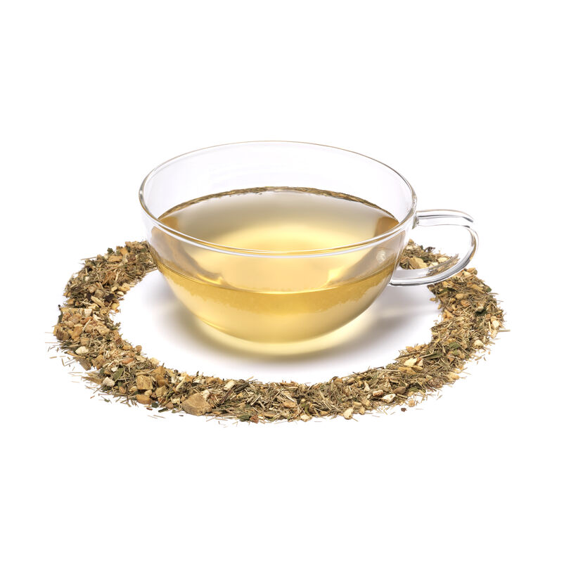 Lemon & Ginger Loose Tea and Teacup