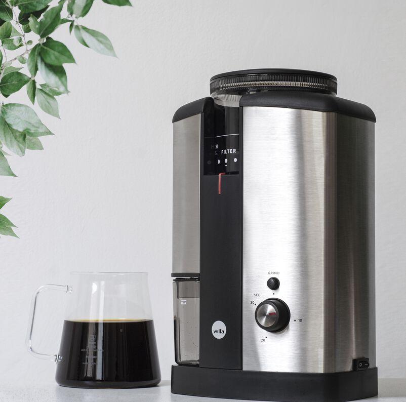 Wilfa Silver Burr Coffee Grinder