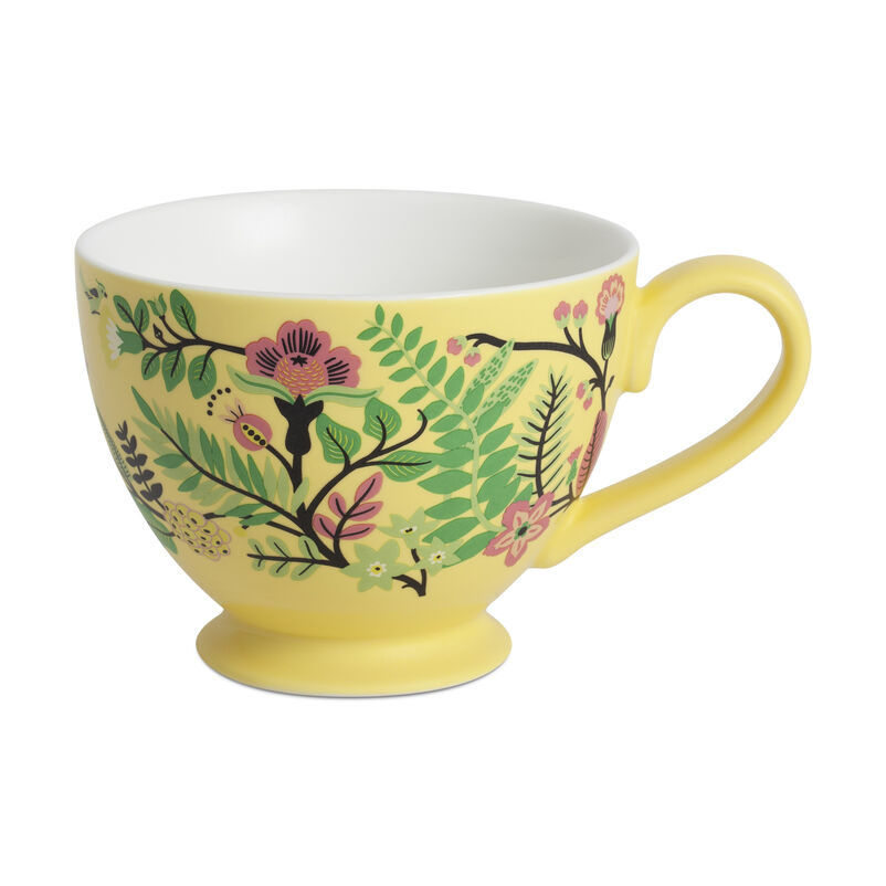 Lemon Porcelain Freya Mug
