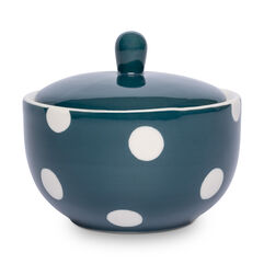 Florence Peacock Spot Sugar Bowl