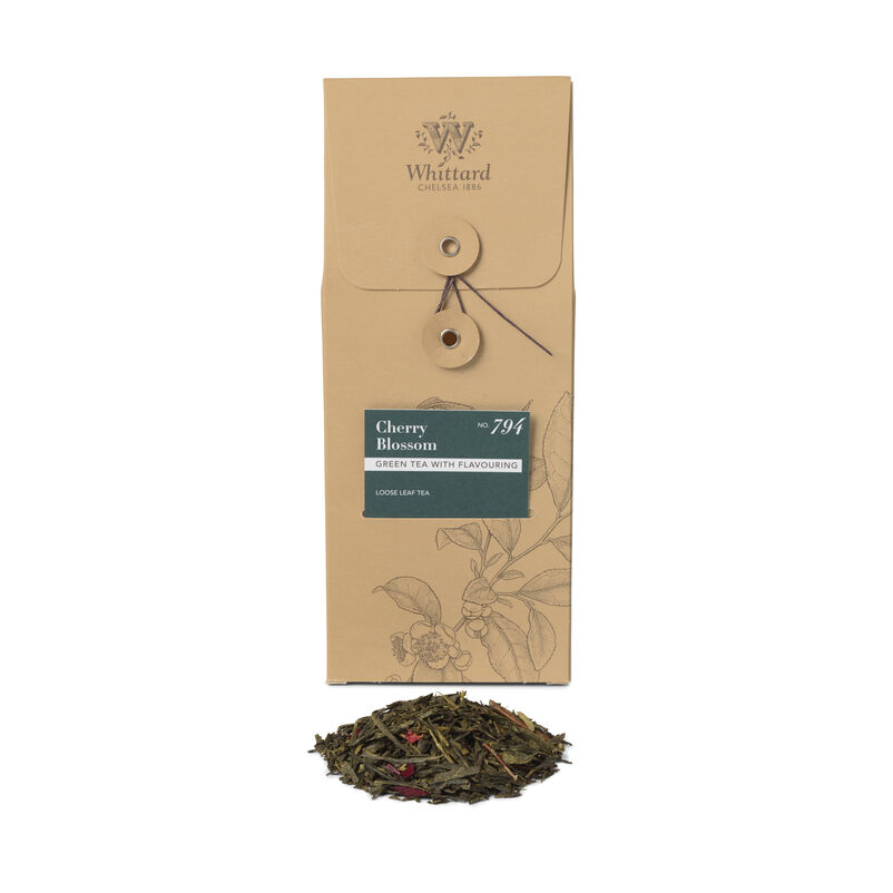 Cherry Blossom Loose Tea Pouch, 100g