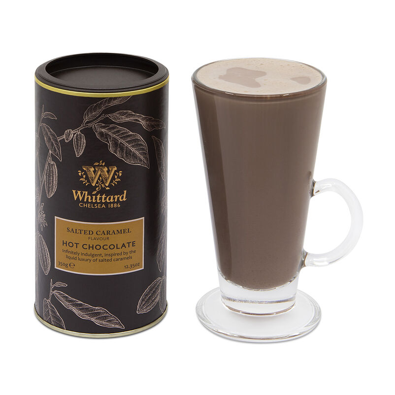 Salted Caramel Flavour Hot Chocolate