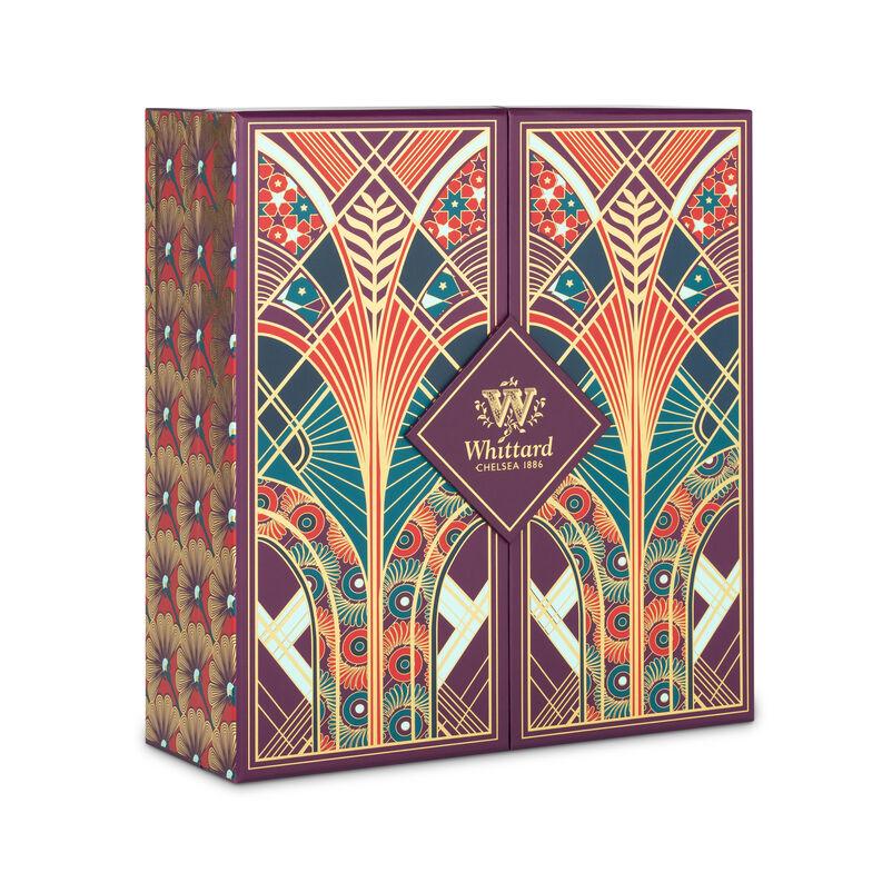 Our Luxury Tea Advent Calendar has an art deco theme this year, with 24 doors