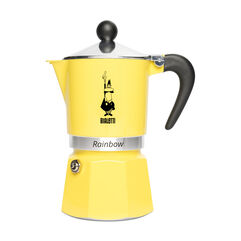 Lemon Bialetti Rainbow 3-cup Stovetop
