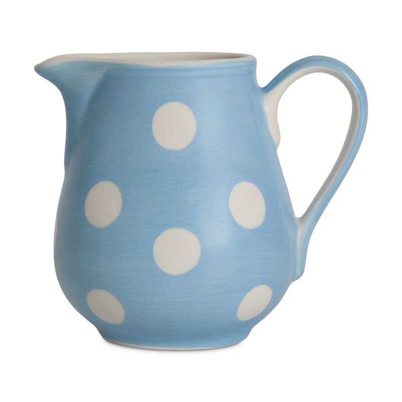 Florence Sky Blue Milk Jug