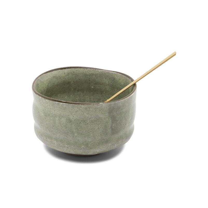 Stoneware Matcha Bowl