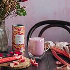 Limited Edition Rhubarb & Custard Flavour White Hot Chocolate