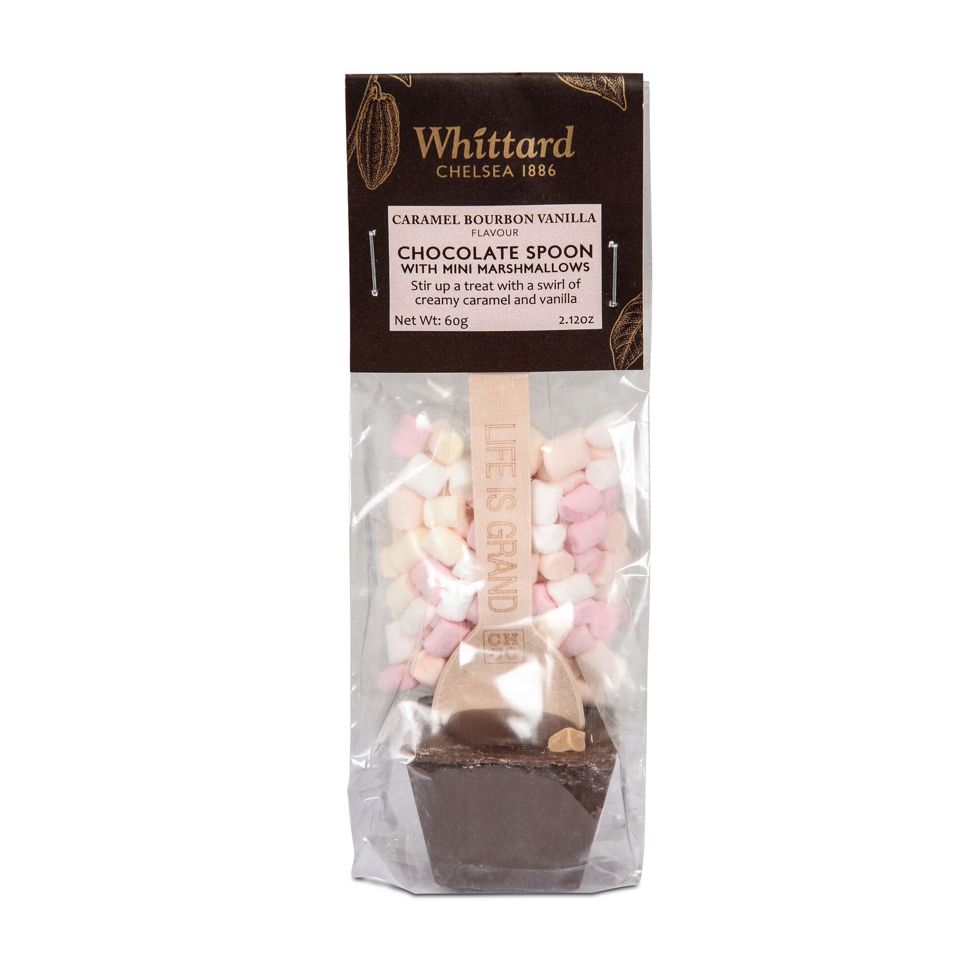 Latte Caramel Bourbon Spoon With Mini Marshmallows Whittard Of Chelsea Marshmallow