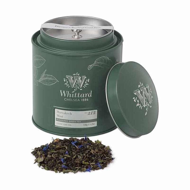 Marrakech Mint Loose Tea in caddy