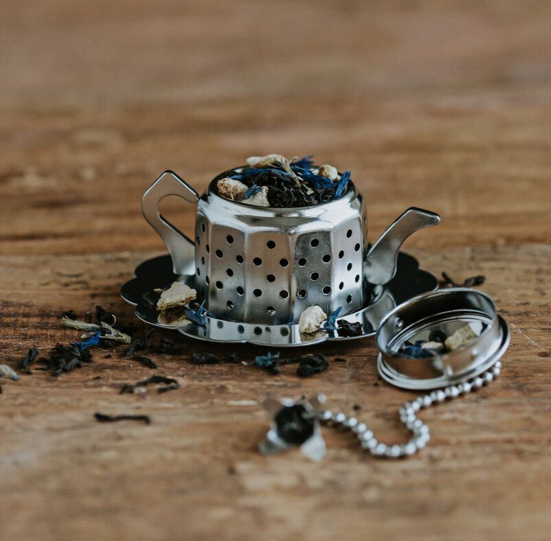 Tea Party Infuser with tea