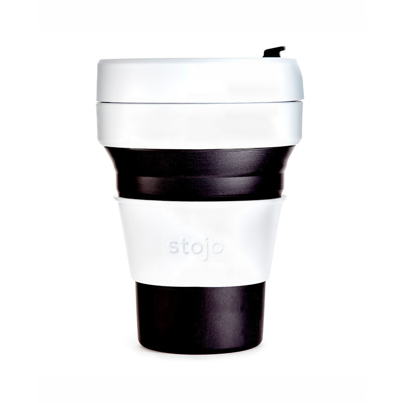 Stojo Black Collapsible Cup