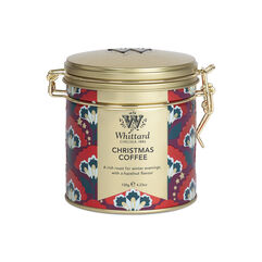 Christmas Coffee Clip Top Tin