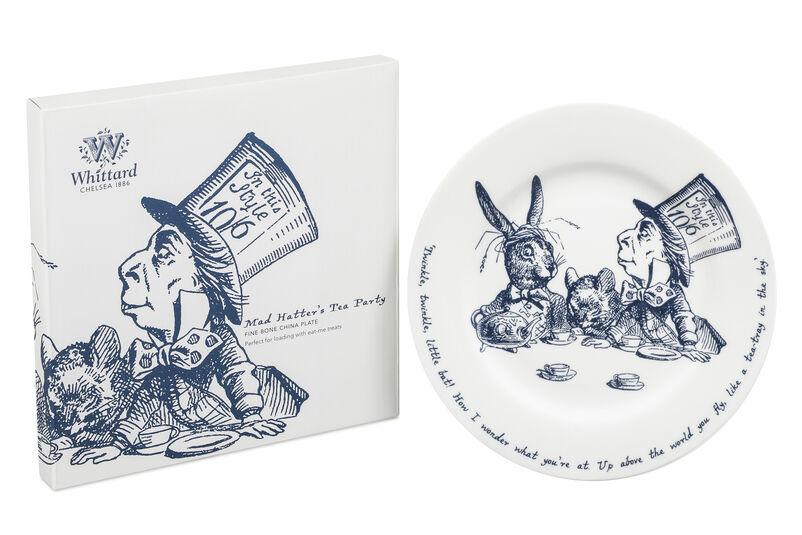 Alice in Wonderland Tea Plate