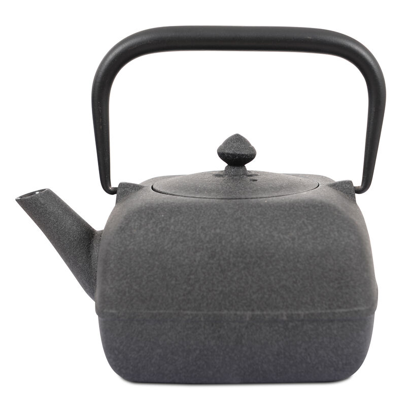 Japanese Tetsubin Grey Cast Iron Teapot