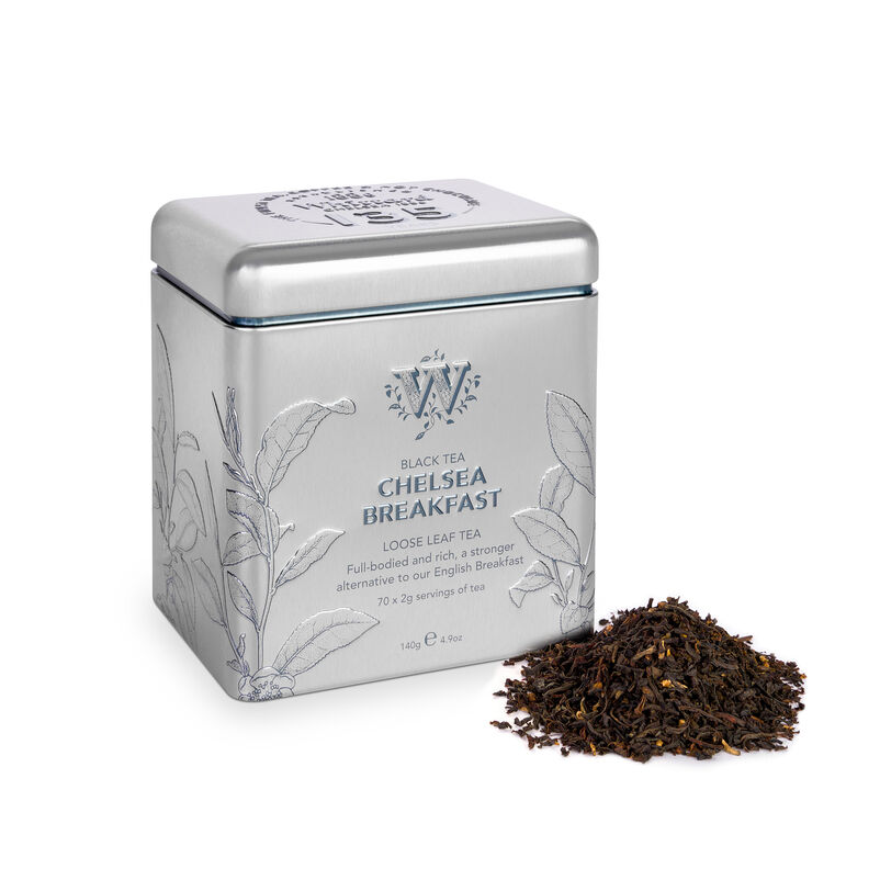 Chelsea Breakfast 135 year Limited Edition Tin with loose tea