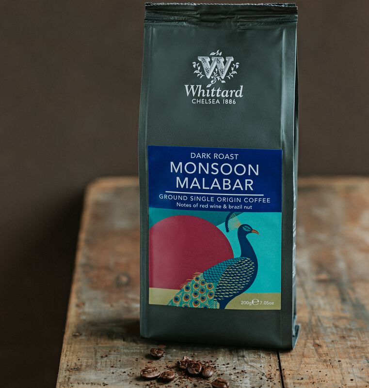 Monsoon Malabar Valve Pack Ground Coffee