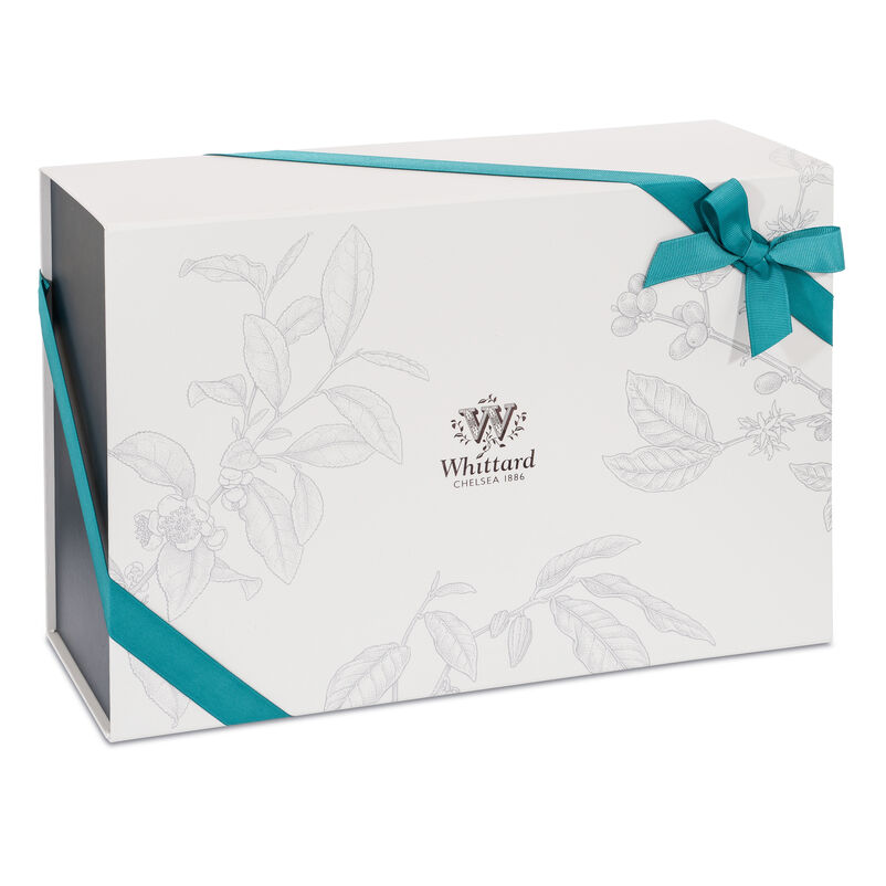 Medium Whittard Gift Box with Ribbon