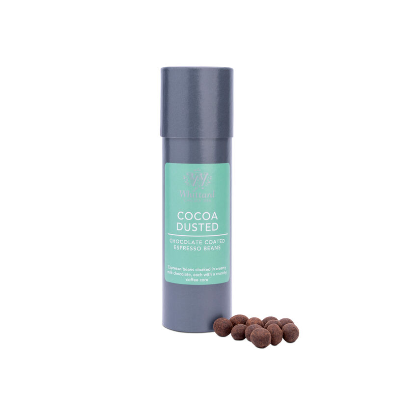 Cocoa Dusted Milk Chocolate Espresso Beans
