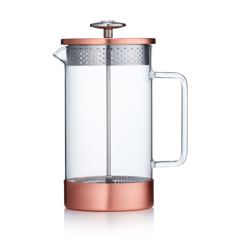 Barista & Co Core Coffee Pres 8-Cup - Copper