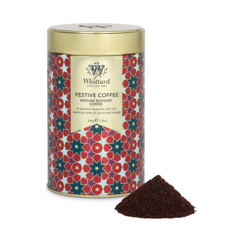 Festive Coffee Tin