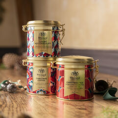Trio of Christmas Clip Top Tins