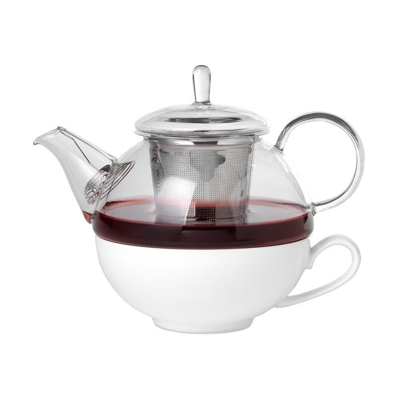 Hampton Glass Tea-for-One