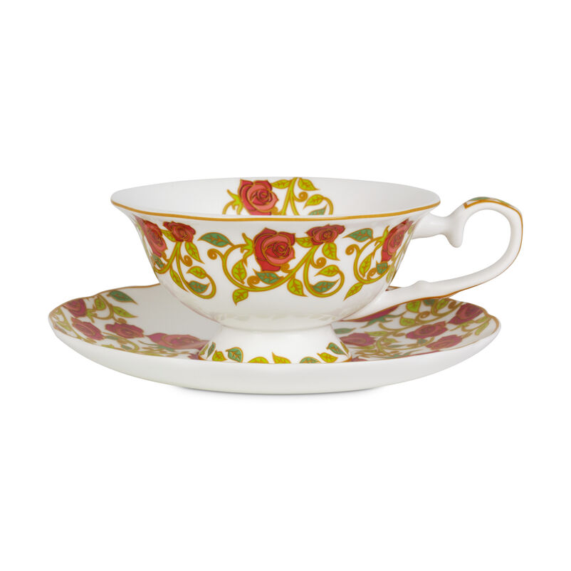 English Rose Tea Cup & Saucer