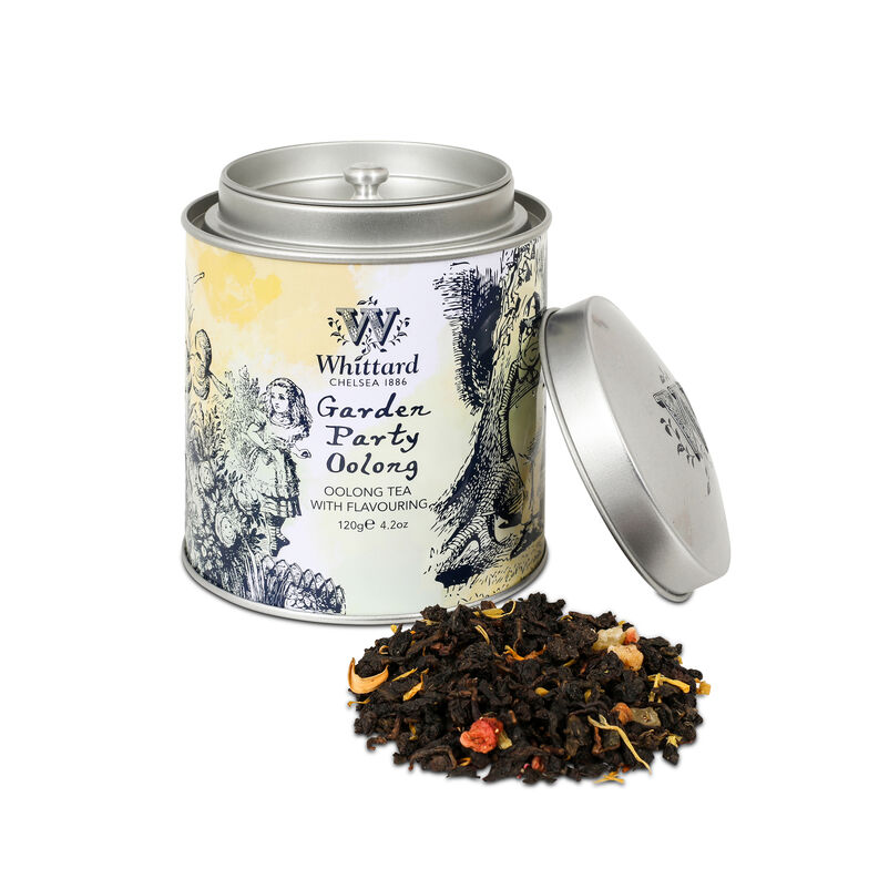 Image of Garden Party Oolong Alice in Wonderland Caddy