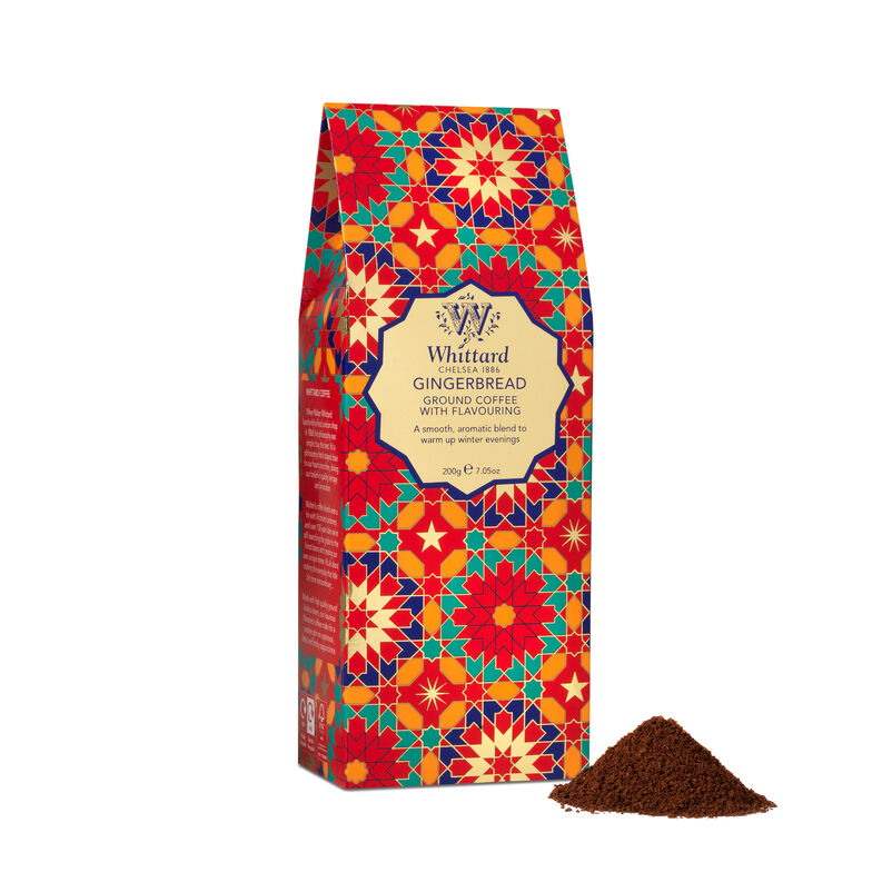 Gingerbread Flavour Ground Coffee