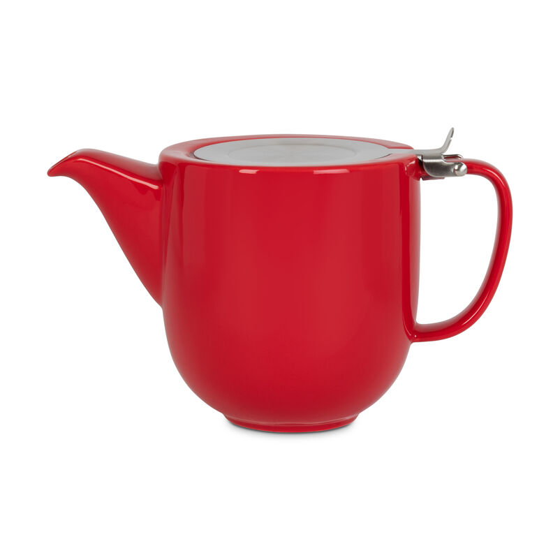Red Fenxiang Teapot with Infuser